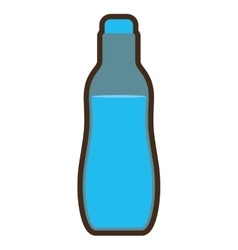 Bottle water drink icon design vector