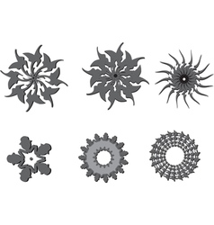 graphic symbols vector image