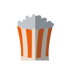 Pop corn food celebration party patrotic vector