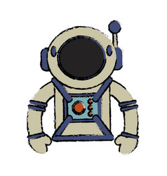 suit space astronaut image vector image