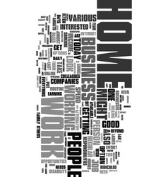 work but what suits your needs text word cloud vector image
