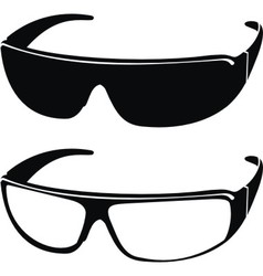 sports sunglasses vector image