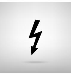 High voltage danger sign vector