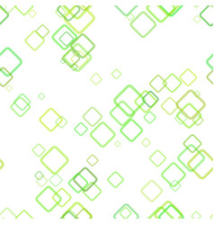 Seamless geometrical square background pattern - vector