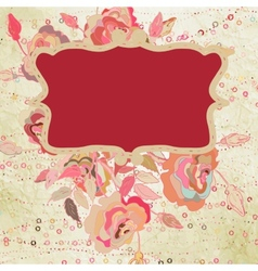 Valentine hand drawing background EPS 8 vector image vector image