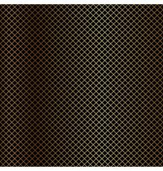 gold net on black background vector image
