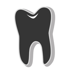 Dental tooth care vector