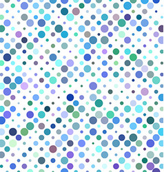 Colorful circle pattern design vector