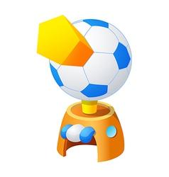 icon soccer vector image vector image