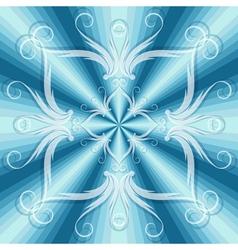 christmas blue seamless vector image