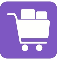 Full cart vector