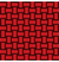 Red and black geometric pattern vector