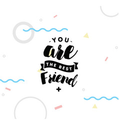 Typography for poster invitation greeting card vector