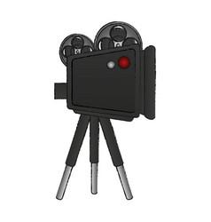 film projector icon image vector image