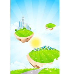 Business City vector image