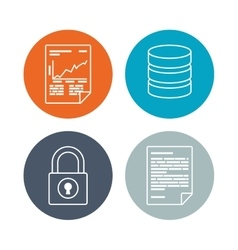 Software icons design vector