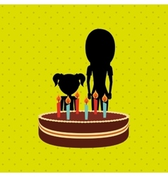 Person party celebration design vector