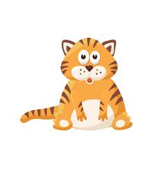 Cartoon baby animal isolated vector