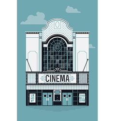 Movie theatre icon vector