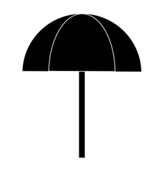 outdoor umbrella icon vector image