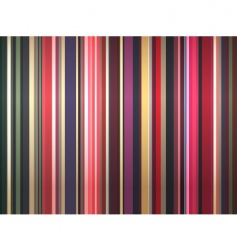 Color stripes background vector