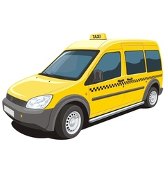 Taxi vector image