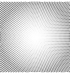 Halftone dots black dots on white vector