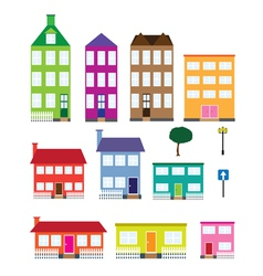 Houses vector