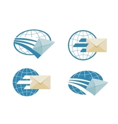 Mail logo design template email or message vector