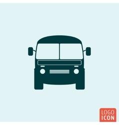 Mini bus icon vector image vector image