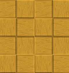 Seamless pattern wooden parquet wooden background vector image