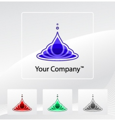 your company logo vector image
