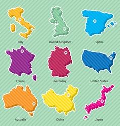 Maps 001 vector