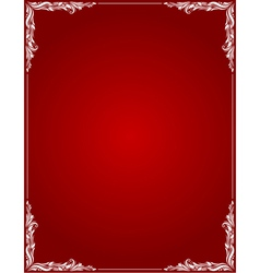Decorative Border Style 1 vector image vector image