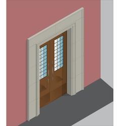 Isometric entrance vector