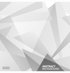 Abstract grey geometric background vector