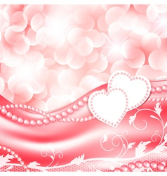 Wedding love holiday background vector image