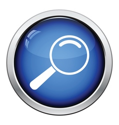 Icon of magnifier vector image