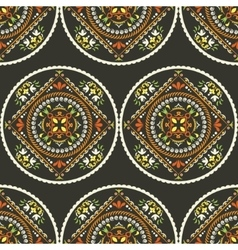 Seamless ethnic pattern Vintage decorative vector image vector image