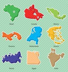 Maps 002 vector