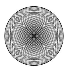 Design monochrome grid textured background vector image
