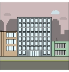 Business city architecture vector