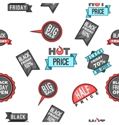 Sale pattern cartoon style vector
