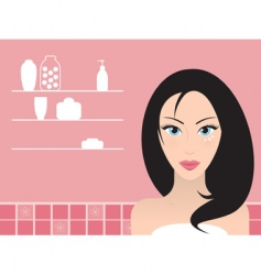 skincare vector image vector image