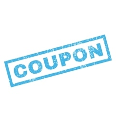 Coupon rubber stamp vector