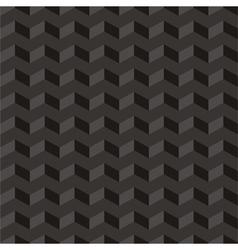 Aztec Chevron dark seamless pattern or background vector image