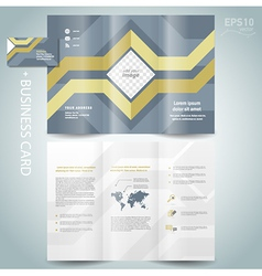 Brochure geometric abstract grach diagram vector