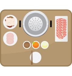 Foodset vector