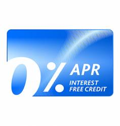 Credit free card vector