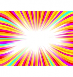 beautiful glow vector abstract background vector image vector image